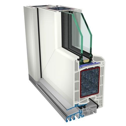 Haustür im System S 8000 IQ
